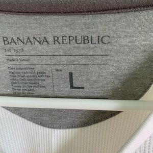 Banana Republic Shirts - Men's Banana Republic Thermal Long Sleeve
